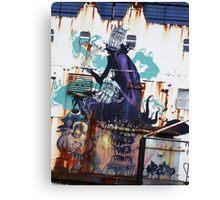 Graffiti, Rust and inherent beauty Canvas Print