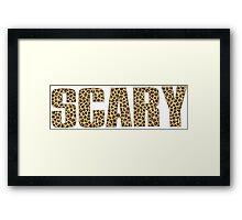 Scary Spice Framed Print