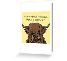 Haircut Greeting Card
