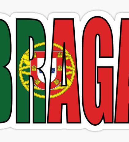 Braga. Sticker