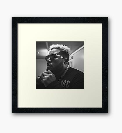 DJ Carnage Framed Print