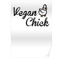 Vegan Chick Poster