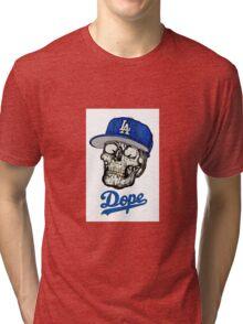 Dope Skull Tri-blend T-Shirt