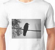 Raven V BW Unisex T-Shirt