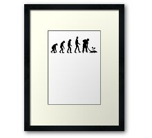 Evolution Gardening Framed Print