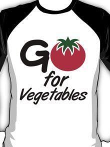 Go for Vegetables T-Shirt