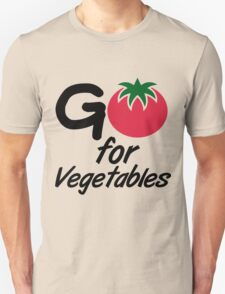Go for Vegetables T-Shirt