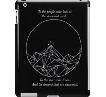 A Court Of Mist And Fury Quote iPad Case/Skin