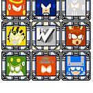 Megaman 4 Boss Select by Funkymunkey