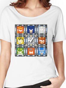 Megaman 4 Boss Select Women's Relaxed Fit T-Shirt