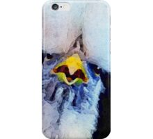 Fancy Chickens:  Who Got First Place?!  That Hussy! iPhone Case/Skin