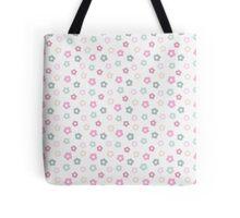 simple cute pastel floral pattern Tote Bag
