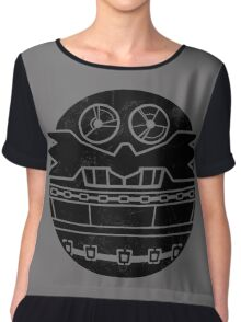 Death Egg Chiffon Top