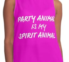 Party Animal Contrast Tank