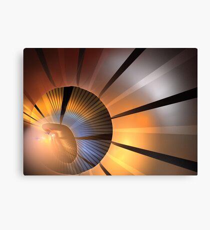 Clay Rays Canvas Print