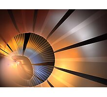 Clay Rays Photographic Print