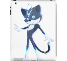 Blu Crystal iPad Case/Skin