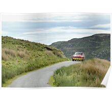 Three Castles Classic Welsh Trial - MGC Poster