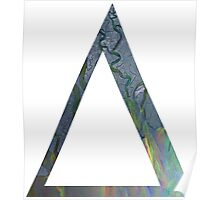 Alt-j An Awesome Wave Triangle Border Poster