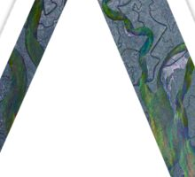 Alt-j An Awesome Wave Triangle Border Sticker