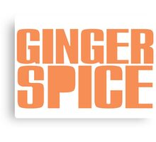 Ginger Spice Canvas Print