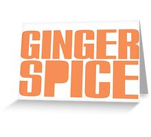 Ginger Spice Greeting Card