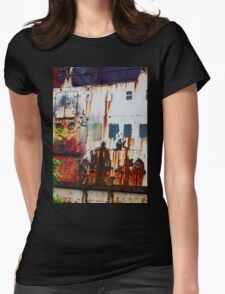 A Flame of Rust Womens Fitted T-Shirt