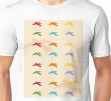 Pattern 006 Colorful Bird Shapes Unisex T-Shirt