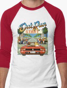 Outrun Men's Baseball ¾ T-Shirt