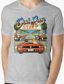 Outrun Mens V-Neck T-Shirt
