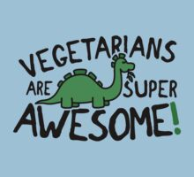 Vegetarians are super awesome! Kids Clothes