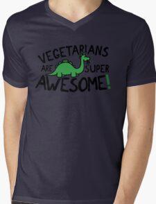 Vegetarians are super awesome! Mens V-Neck T-Shirt