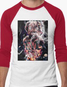 Evil Ted Podcast Logo Men's Baseball ¾ T-Shirt