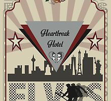 """Heartbreak Hotel"" Elvis Presley by Lyndsey Fletcher"