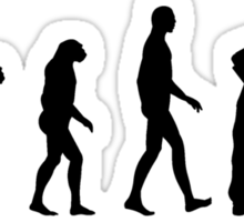 Evolution Gardening Sticker