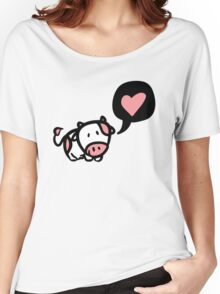 Cow in love Women's Relaxed Fit T-Shirt