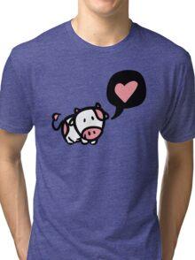 Cow in love Tri-blend T-Shirt