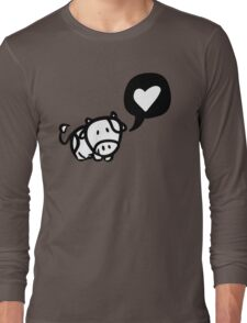 Cow in Love Long Sleeve T-Shirt