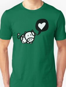 Cow in Love Unisex T-Shirt