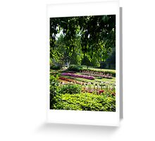 Mohonk Garden Greeting Card