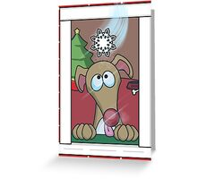 The First Flake Greeting Card