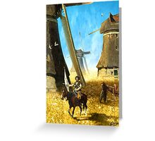 Giants on the Plains Greeting Card