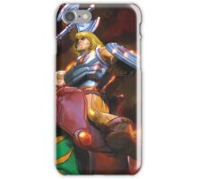 Battlecat and he-man iPhone Case/Skin
