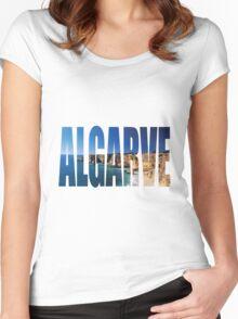Algarve Women's Fitted Scoop T-Shirt