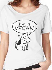 I'm a vegan Women's Relaxed Fit T-Shirt