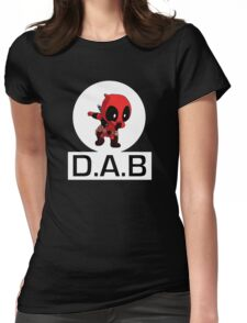 -DAB- DabPool V2.0 Womens Fitted T-Shirt