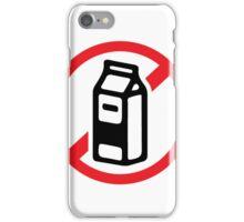 No milk - no dairy iPhone Case/Skin