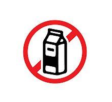 No milk - no dairy Photographic Print