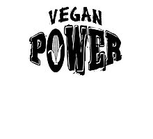 Vegan Power Photographic Print