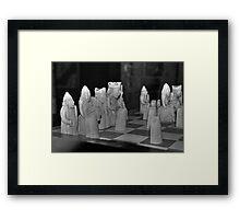 Lewis Chessmen Framed Print